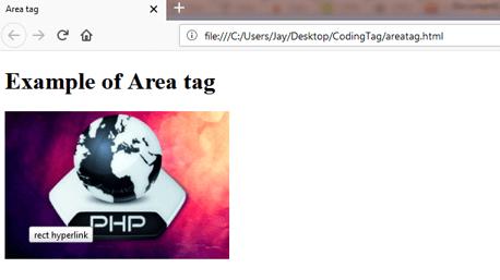 AREA (<area>) Tag