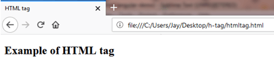 HTML (<html>) Tag