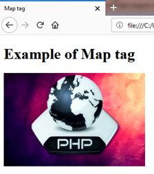 MAP <map> Tag