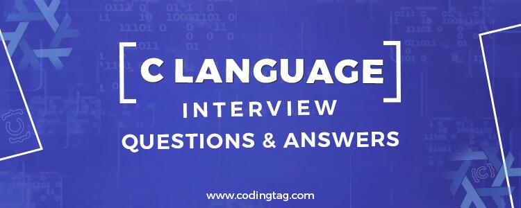 Top 30 C language Interview Questions