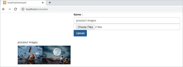 uploading both data and files on MYSQL Server in one form using ajax?