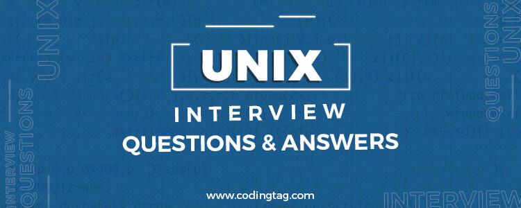 Top 30 Unix Interview Questions