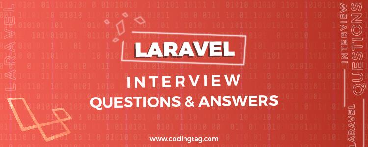 Laravel Interview Questions