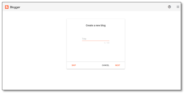 How to easily set up a Blog on Blogger