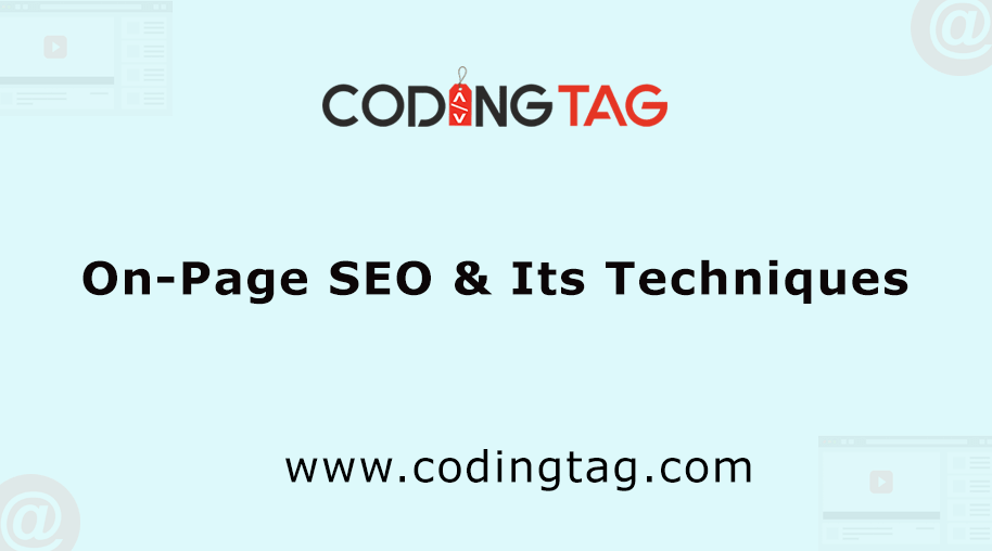 On-Page SEO & Its Techniques