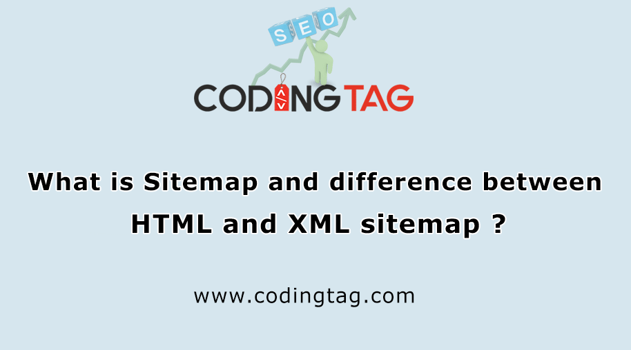 What is Sitemap and difference between HTML and XML sitemap ?