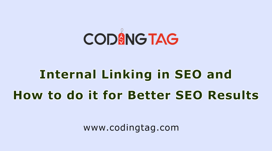 Internal Linking in SEO and How to do it for Better SEO Results