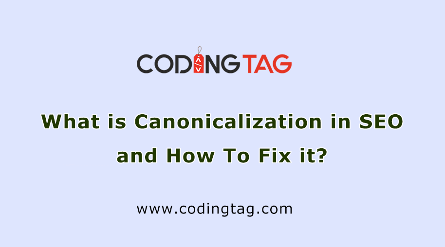 What is Canonicalization in SEO and How To Fix it?