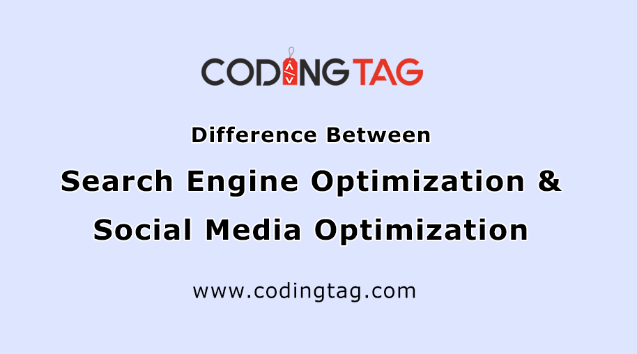 Difference Between Search Engine Optimization & Social Media Optimization