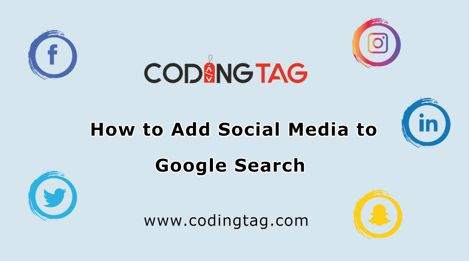 How to Add Social Media to Google Search