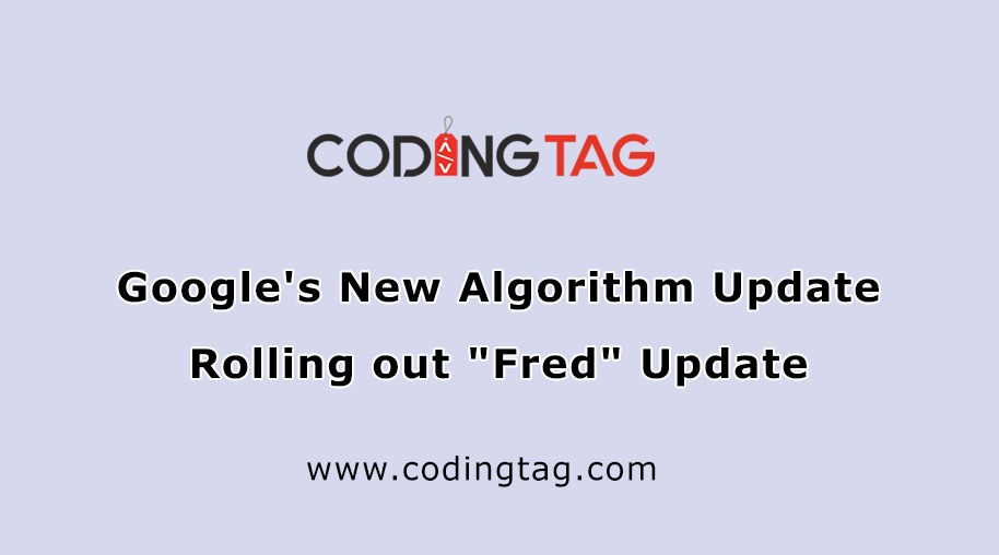 Google's New Algorithm Update Rolling out