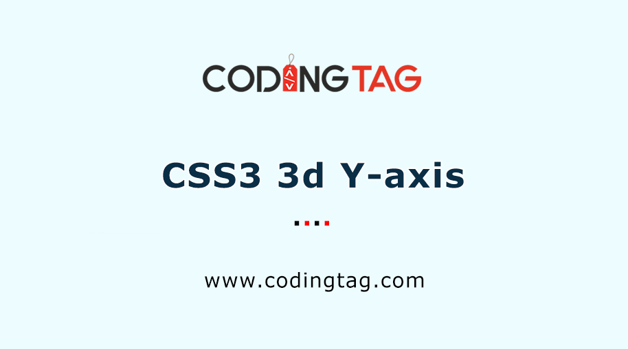 CSS3 3d Y-axis