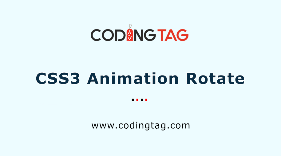 CSS3 Animation Rotate