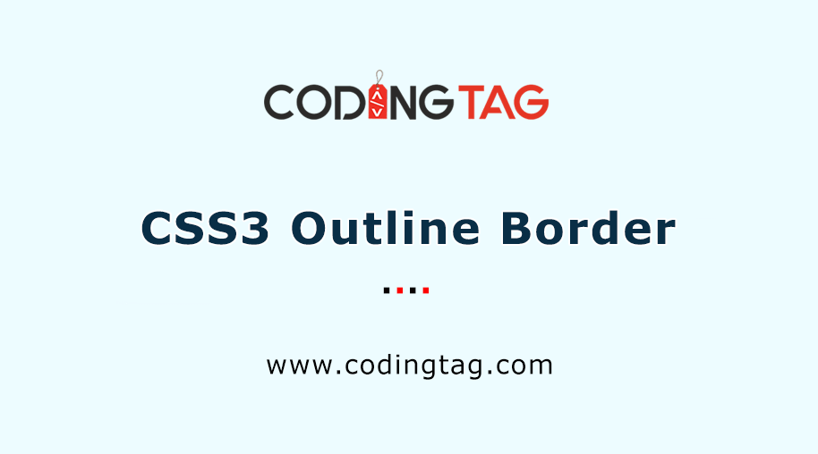 CSS3 Outline Border
