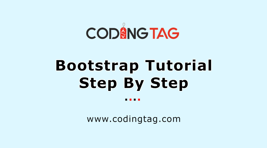 Bootstrap Tutorial Step By Step
