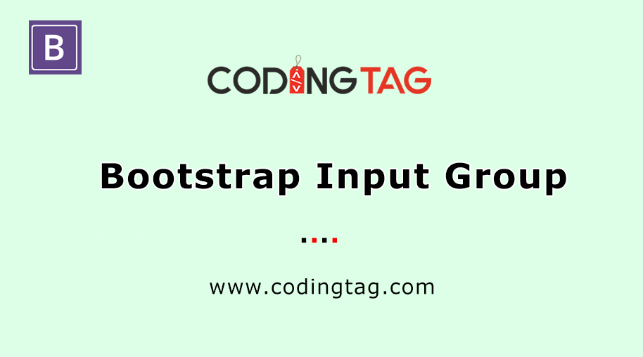 Bootstrap Input Group