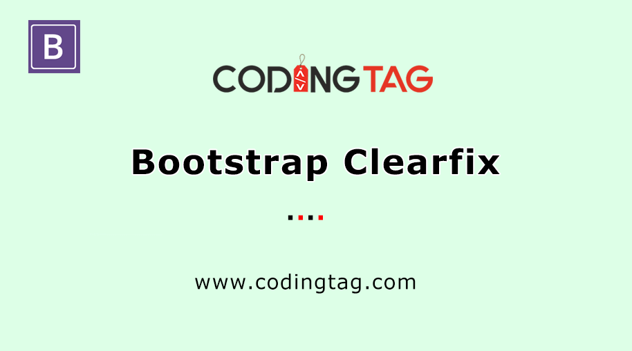 Bootstrap Clearfix