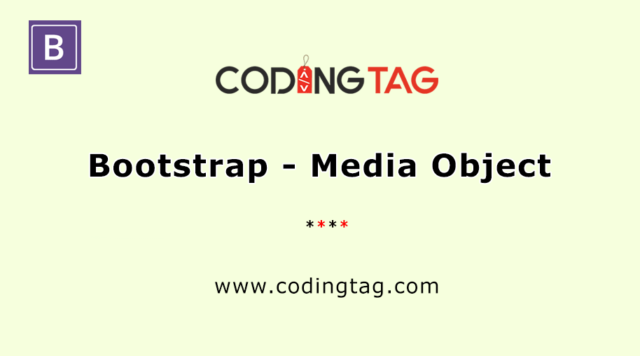 Bootstrap - Media Object