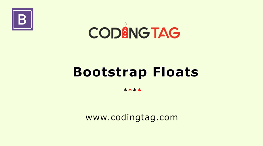 Bootstrap Floats