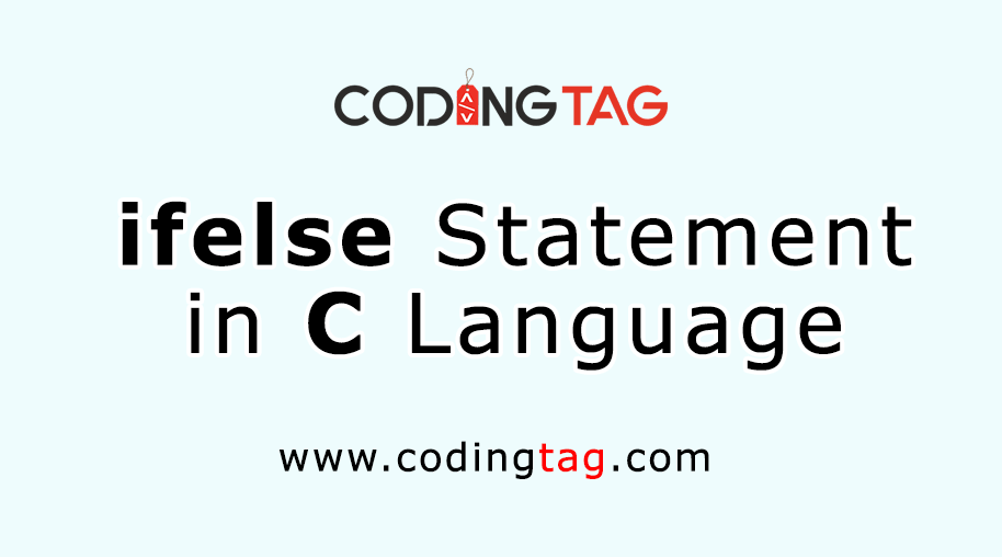 ifelse statement in C