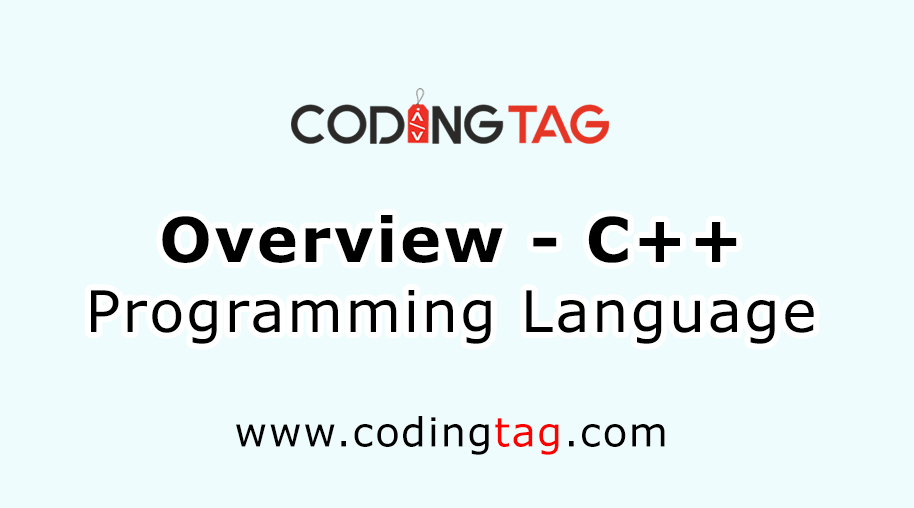 Overview C++