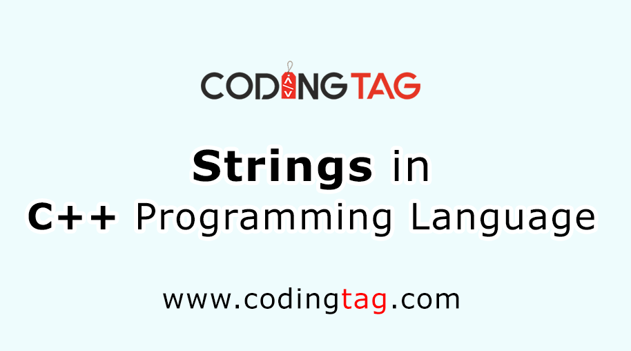 Strings in C ++