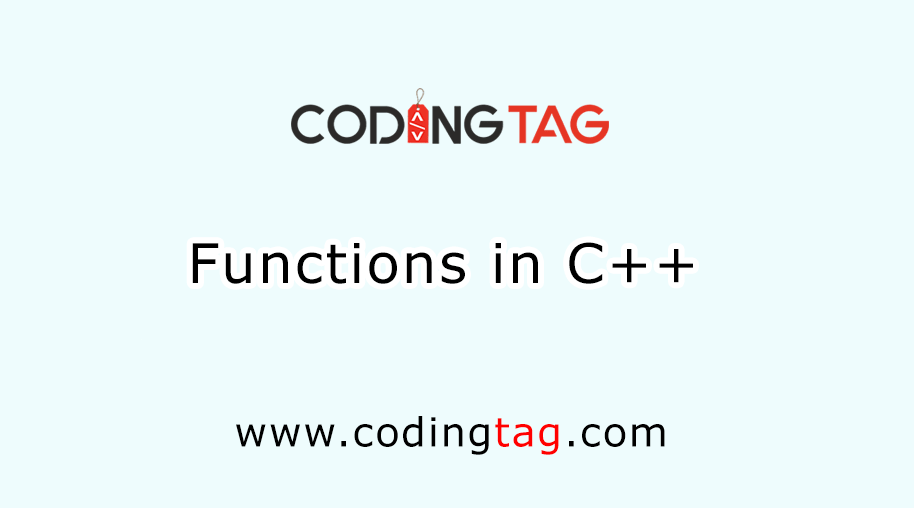 Function in C++