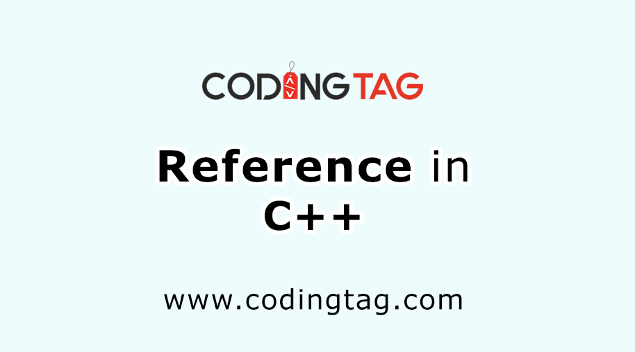 Reference in C++