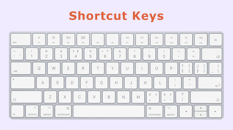 Personal Computer Shortcut Keys
