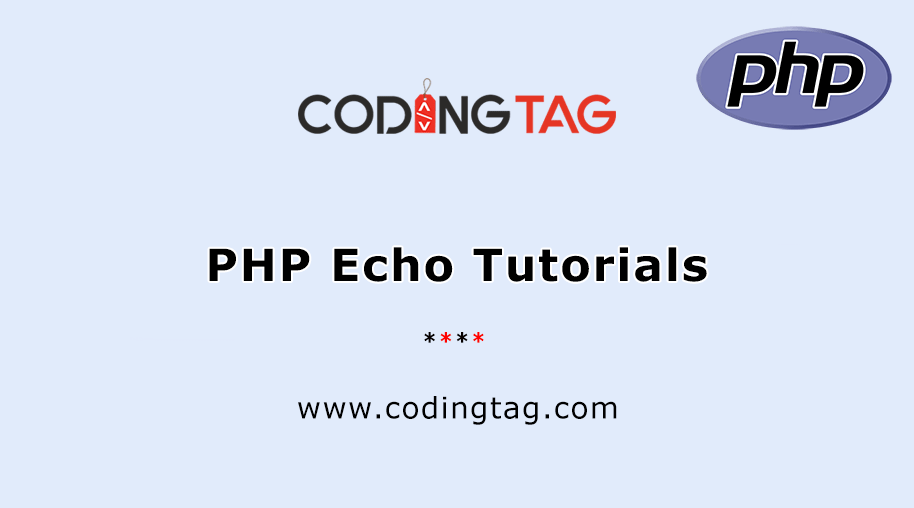 PHP Echo Tutorials
