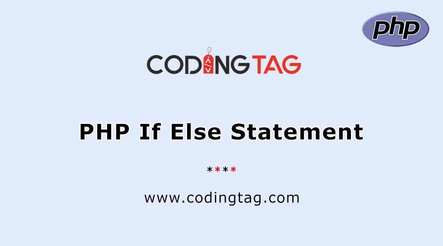 PHP If..Else.. Statement