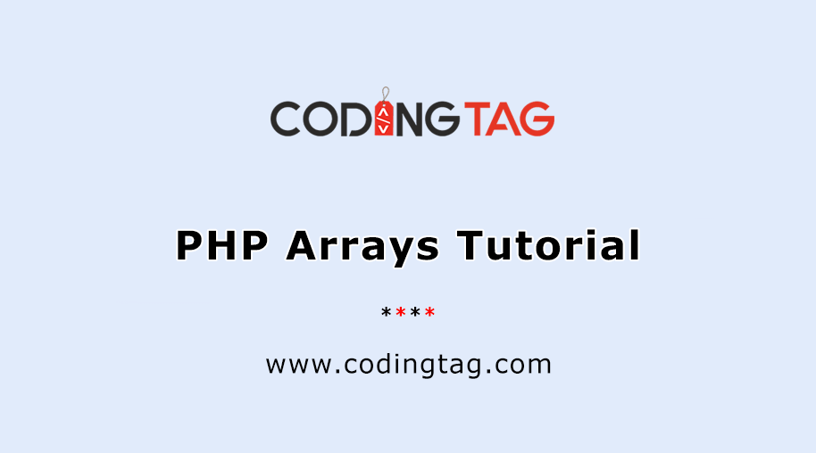 PHP Arrays Tutorial