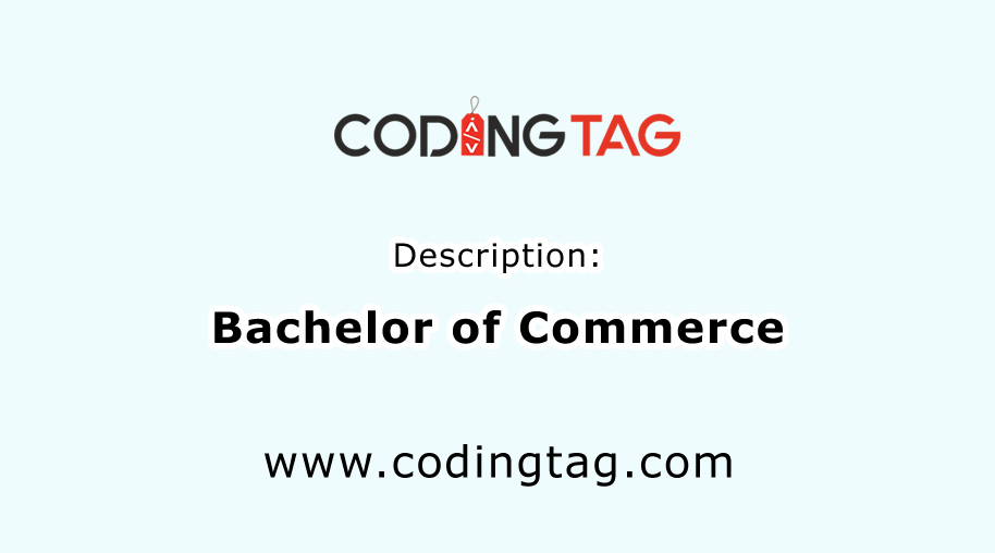 Bachelor of Commerce (B.Com)