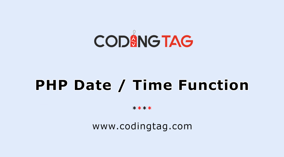 PHP Date() / Time() Function