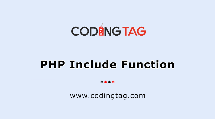 PHP Include Function