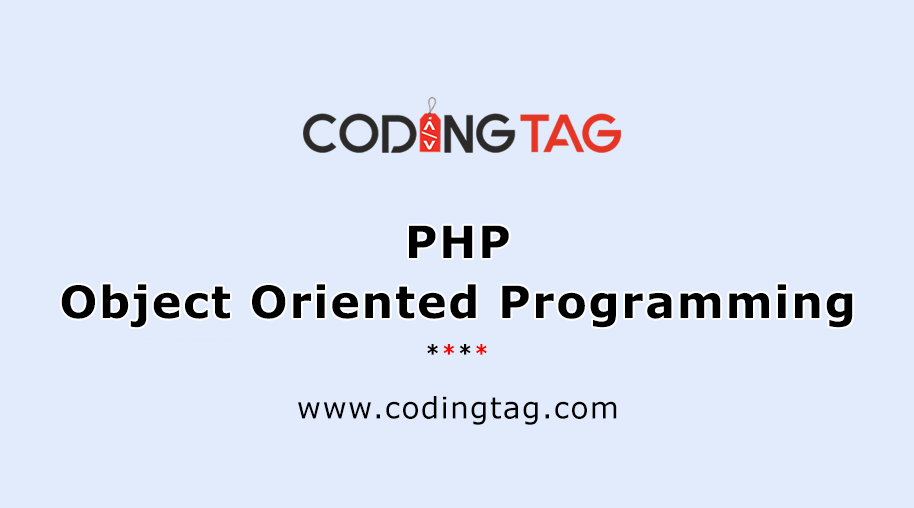 PHP Object Oriented Programming
