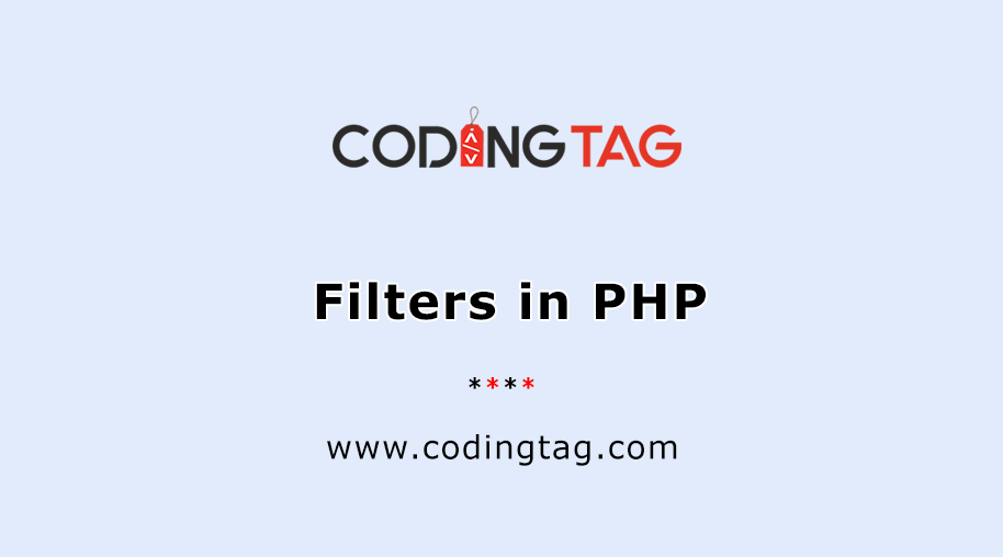 Filters in PHP