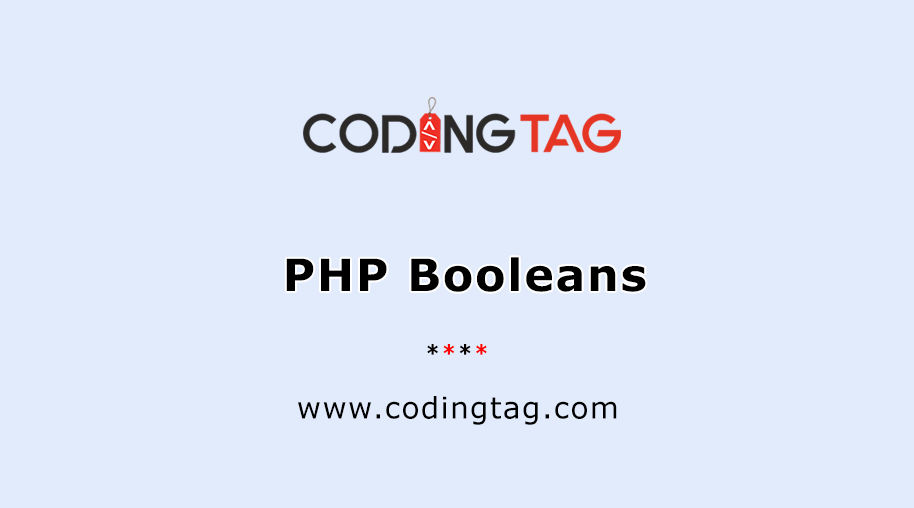 PHP Booleans