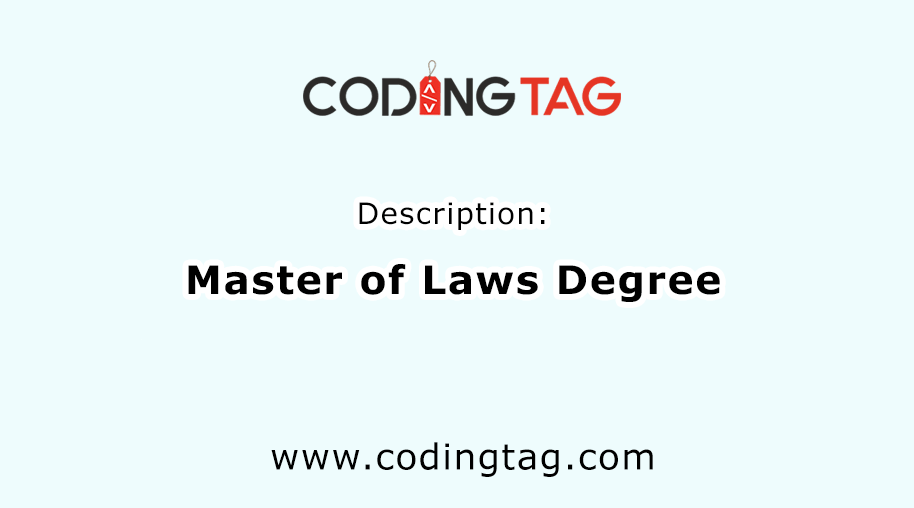 Master of Laws degree (LLM)
