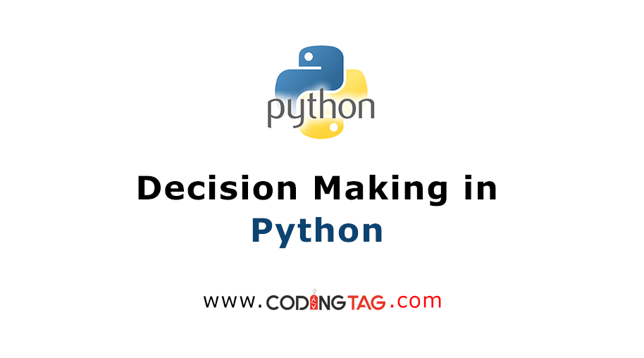 Decision Making in Python