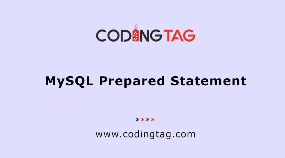 MySQL Prepared Statement