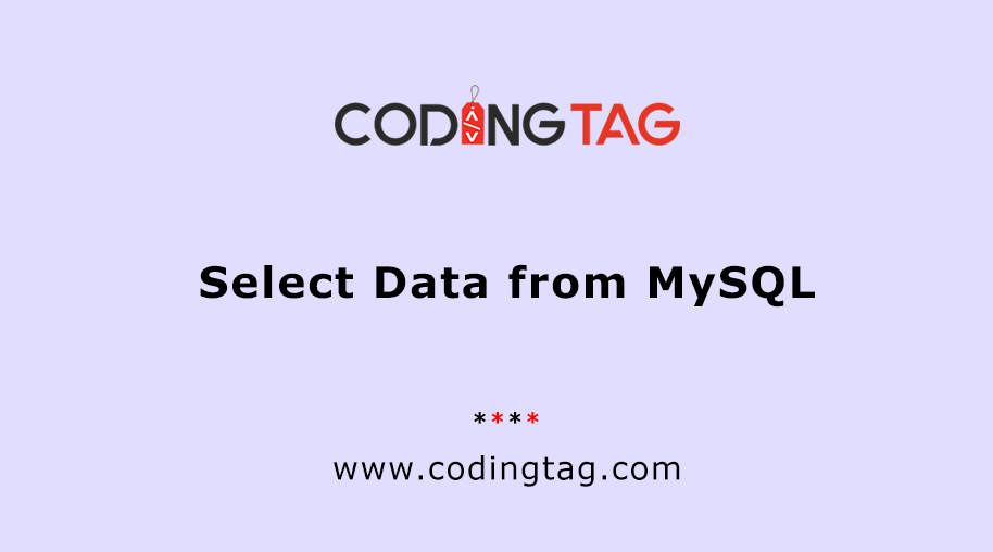 Select Data from MySQL