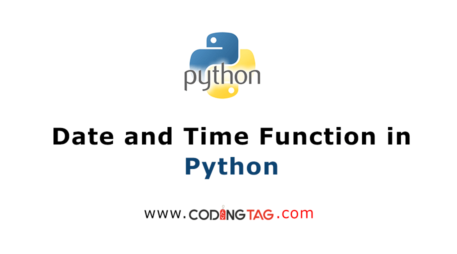 Date and Time Function in Python
