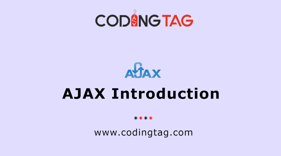 AJAX Introduction