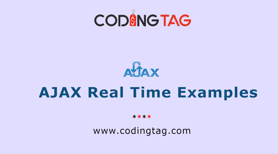 AJAX Real Time Examples