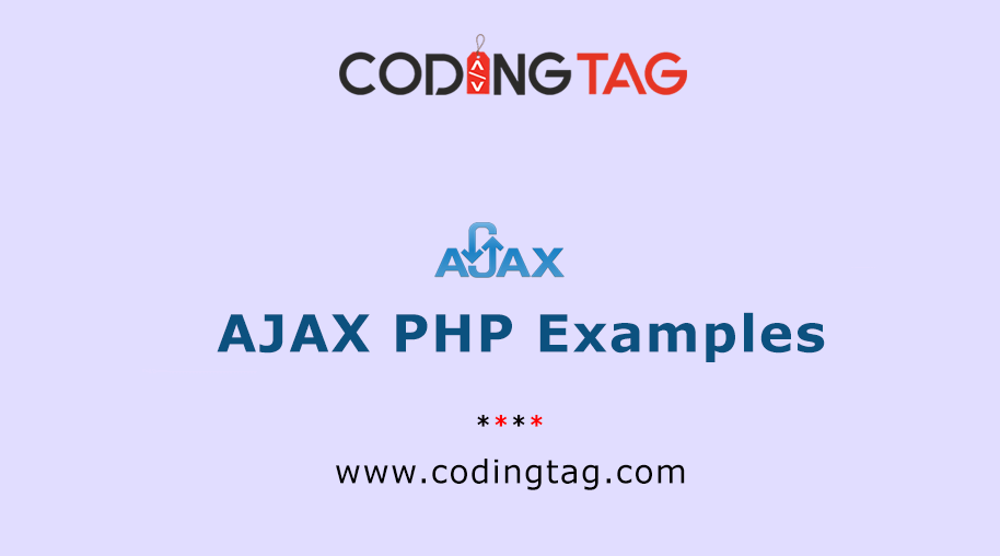 AJAX PHP Examples