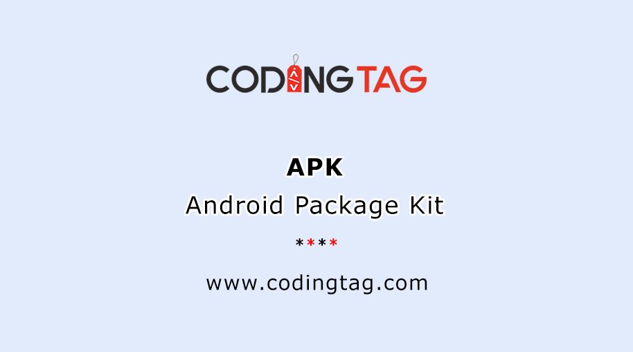 Android Package Kit (APK)