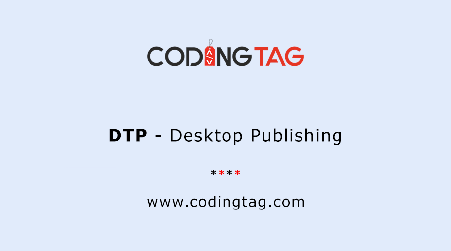 Desktop Publishing (DTP)