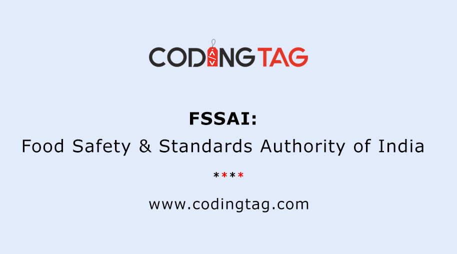 Food Safety & Standards Authority of India (FSSAI)