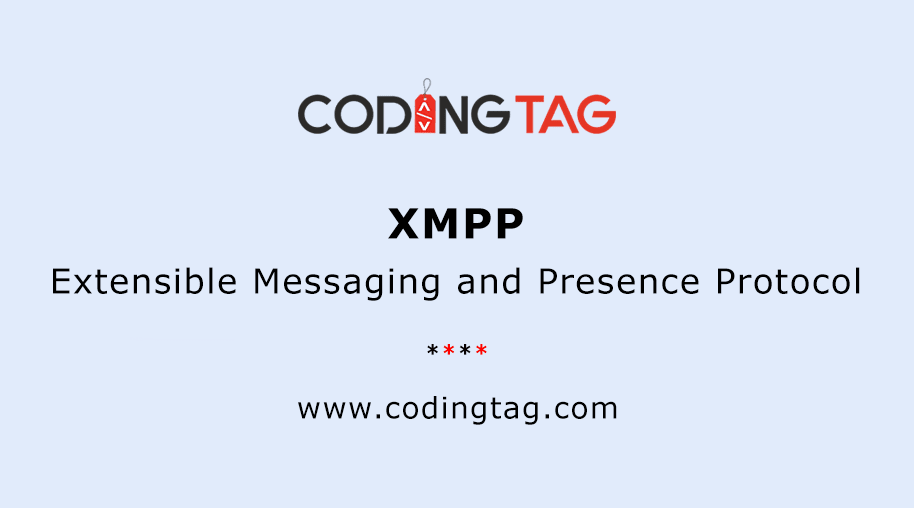 Extensible Messaging and Presence Protocol (XMPP)